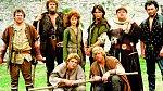 Malý John, Mariana, Robin amnich Tuck. Seriál zroku 1984 měl klasické postavy, ale nevšední zpracování.