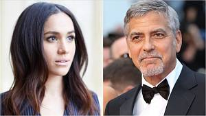 Meghan Markle a George Clooney