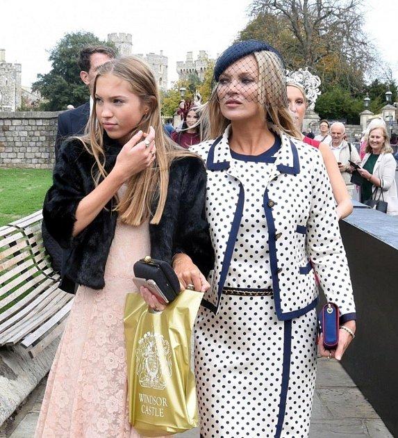 Kate Moss a dcera Lila Grace