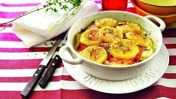 Sýrové brambory