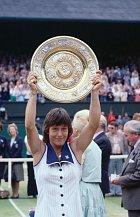Jen ve dvouhře vyhrála Martina devětkrát Wimbledon. První už v roce 1978.