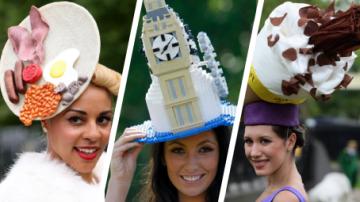 Nejdivnější klobouky najdete na události Royal Ascot