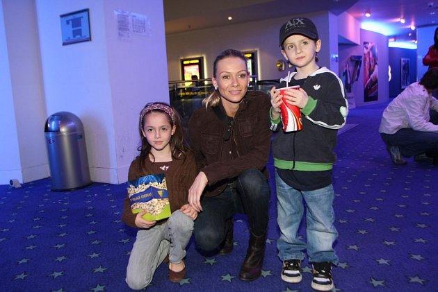 Martina Gavriely se svými dětmi