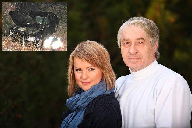Zpěvačka a Josef Rychtář prožili při nehodě velmi nepříjemné chvíle...