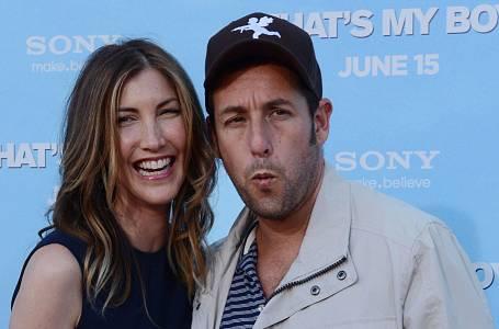 Adam Sandler s manželkou Jackie
