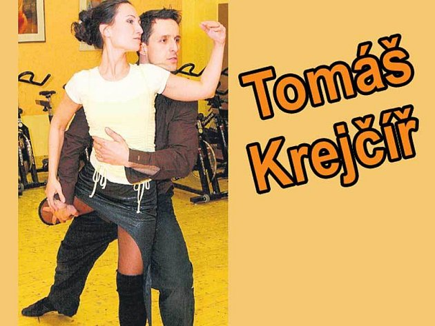 Odhodlaný výraz Tomáše Krejčíře při tanci s Janičkou vypovídá o jeho nasazení…