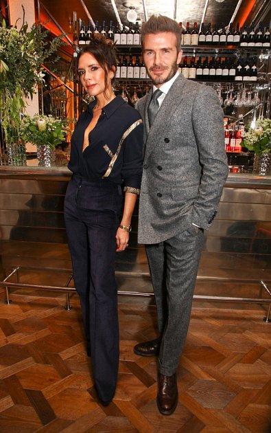 Victoria Beckham a David Beckham