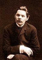 Maxim Gorkij, zakladatel spisovatelské vesničky.