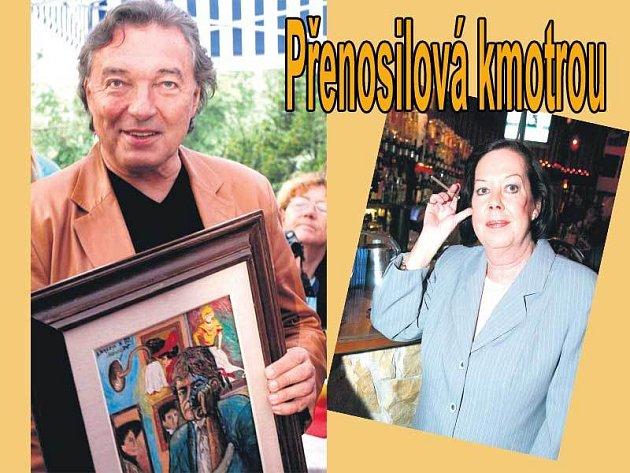 Za to, že se Karlovi Gottovi přezdívá Čuňas, může poděkovat své kolegyni Yvonne Přenosilové.