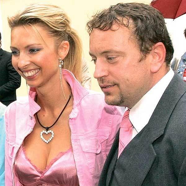 Jan Moťovský s manželkou.