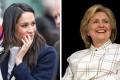 Meghan Markle a Hillary Clinton