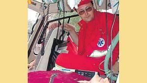 Posádka vrtulníku ostravské letecké záchranky se v neděli i se svou posádkou pořádně zapotila.