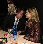 S manželkou Klárou