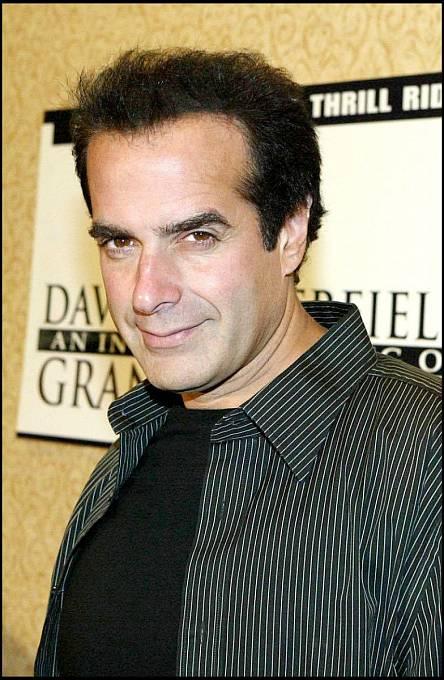 Proslulý kouzelník David Copperfield