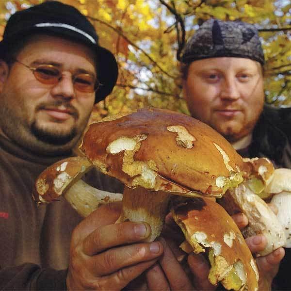 Miroslav Reiner a Branko Nešič z Újezdečka na Teplicku mají z každého nálezu nelíčenou radost.