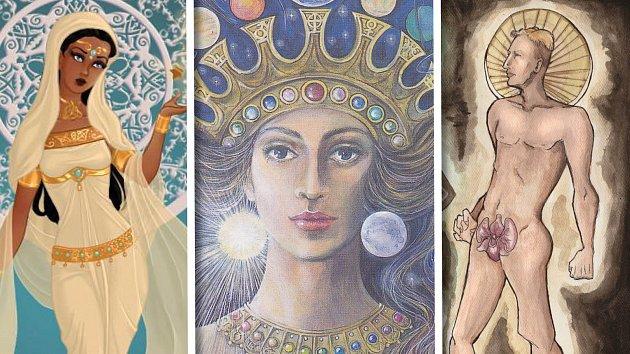 Bohyni Ištar sloužily ženské kněžky i mužští kněží.
