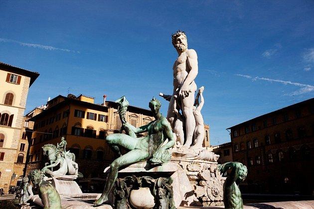 Florencie je plná památek.