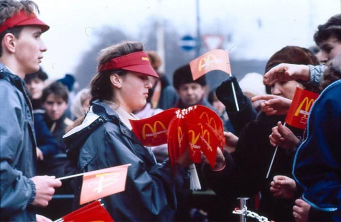 Restaurace byla iniciována McDonalds' Kanadou a moskevskou městskou radou