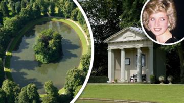 Jezero The Oval - místo posledního odpočinku princezny Diany