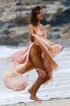 Modelka ze stáje Victoria's Secret neuhlídala svůj rozkrok.