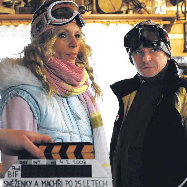 Eva Jeníčková a Michal Suchánek