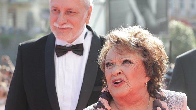 Jiřina Bohdalová a Zdeněk Zelenka