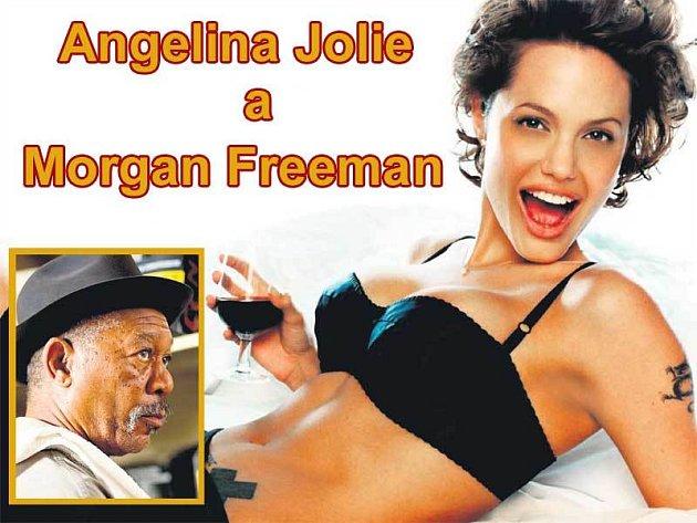 Morgan Freeman i Angelina Jolie si zahrají ve filmu Wanted hlavní roli.