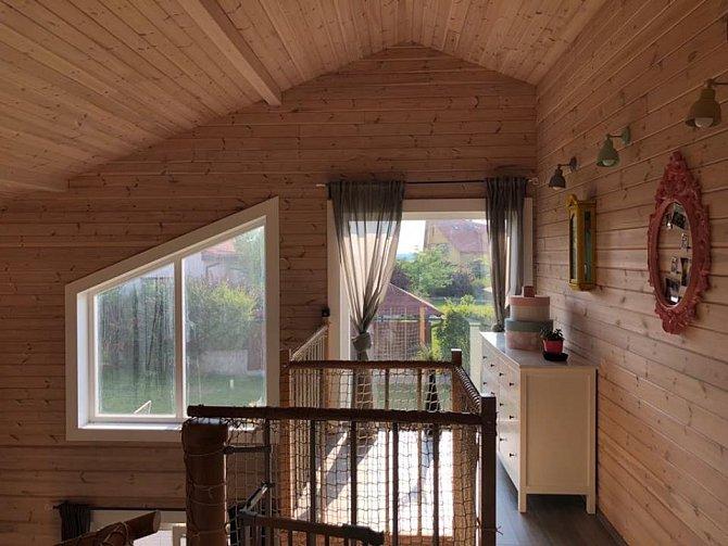 Celý dům si manželé navrhovali sami.