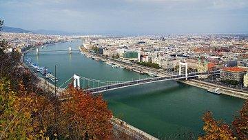 Podzimní Budapešť