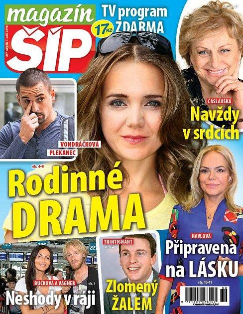 Titulní strana Magazínu Šíp 7.9.2016