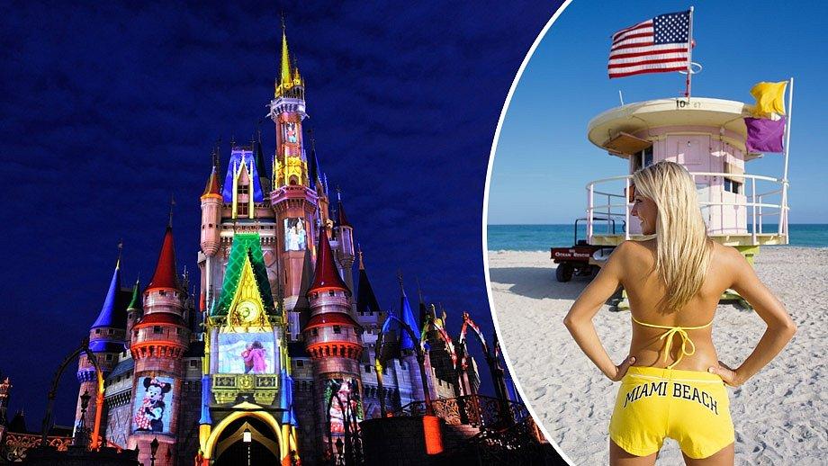 Vyberete si exkurzi k Disneymu, nebo válení na pláži?
