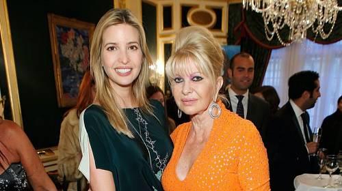 Ivana a Ivanka Trump