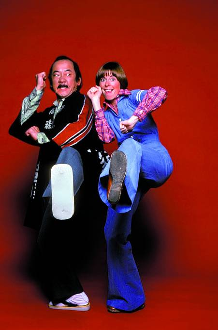 Hmaty a chvaty předváděl také v seriálu Mr. T. and Tina.