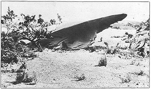 Spadl v Roswellu létající talíř?