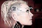 Tetování pro milovnice elektroniky.
