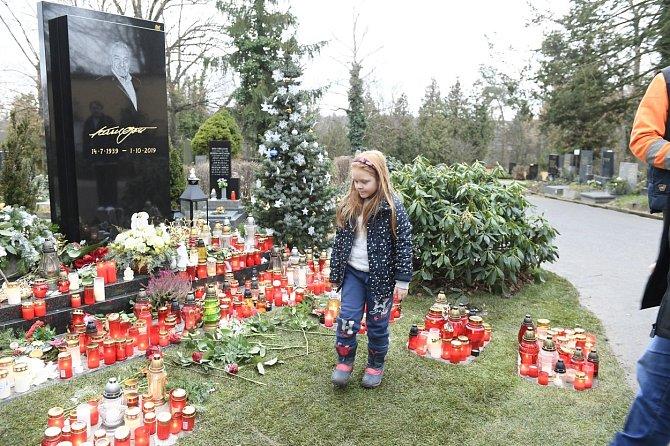 Karel Gott tam popisuje mnoho zážitků z dětství, mimo jiné svou zálibu v pohřbech.