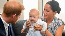 Manželé se nyní radují již ze dvou dětí, syna Archieho a dcerky Lilibet.