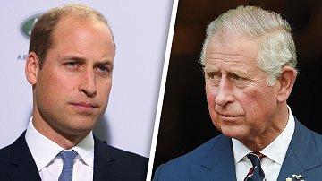 Princové William a Charles