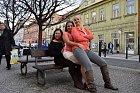 Trojhlavá saň: Aneta Christovová, Vlaďka Pirichová aLinda Finková.