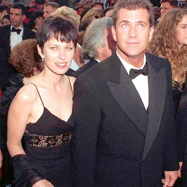 Mel Gibson s manželkou.
