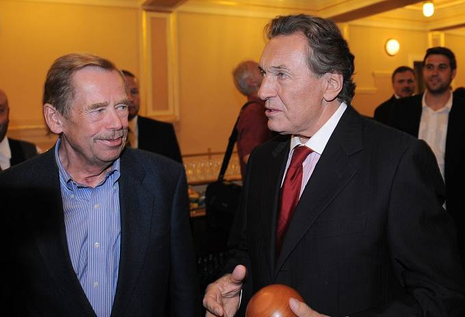 Karel Gott, Václav Havel