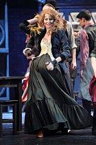 Ivana Gottová na premiéře muzikálu