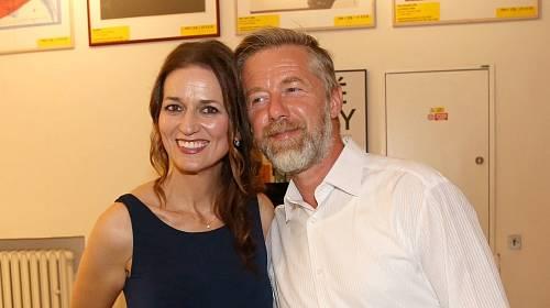 Adéla Gondíková a Jiří Langmajer