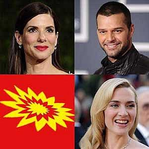 Dva rozvody a jeden coming out: Kate Winslet, Sandra Bullock a Ricky Martin
