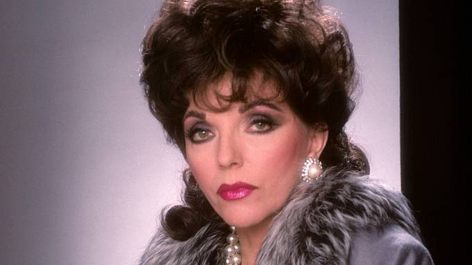 Joan Collins, nejslavnější seriálová mrcha