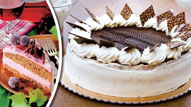 Upečte si domácí dortík, aby vypadal jako z cukrárny.