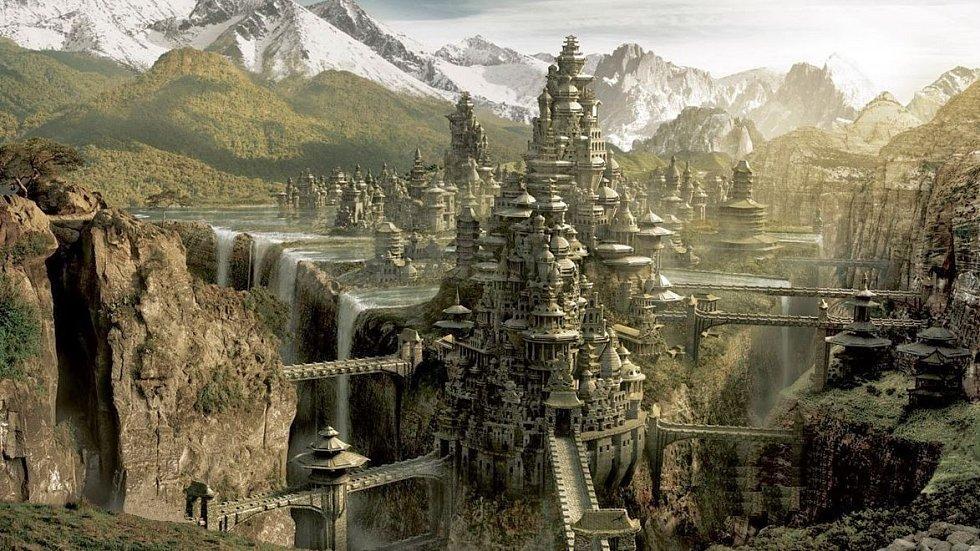 Skutečně se vhloubi velehor ukrývá bájné místo plné netušených vědomostí amožností?