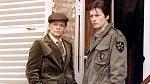Zlý ahodný muž evropského filmu. Klaus sAlainem Delonem vkrimi Smrt darebáka (1977).