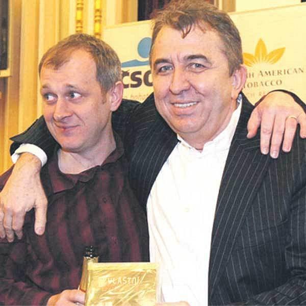 Jiřího Bábka spojilo s Ferem Feničem vydání DVD Zvláštní bytosti.