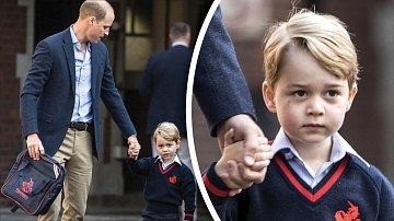 Roztomilý klučina má jako britský princ velkou cenu.